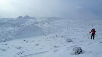 カリカリの雪原